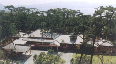 東附属邸と茶室・露地